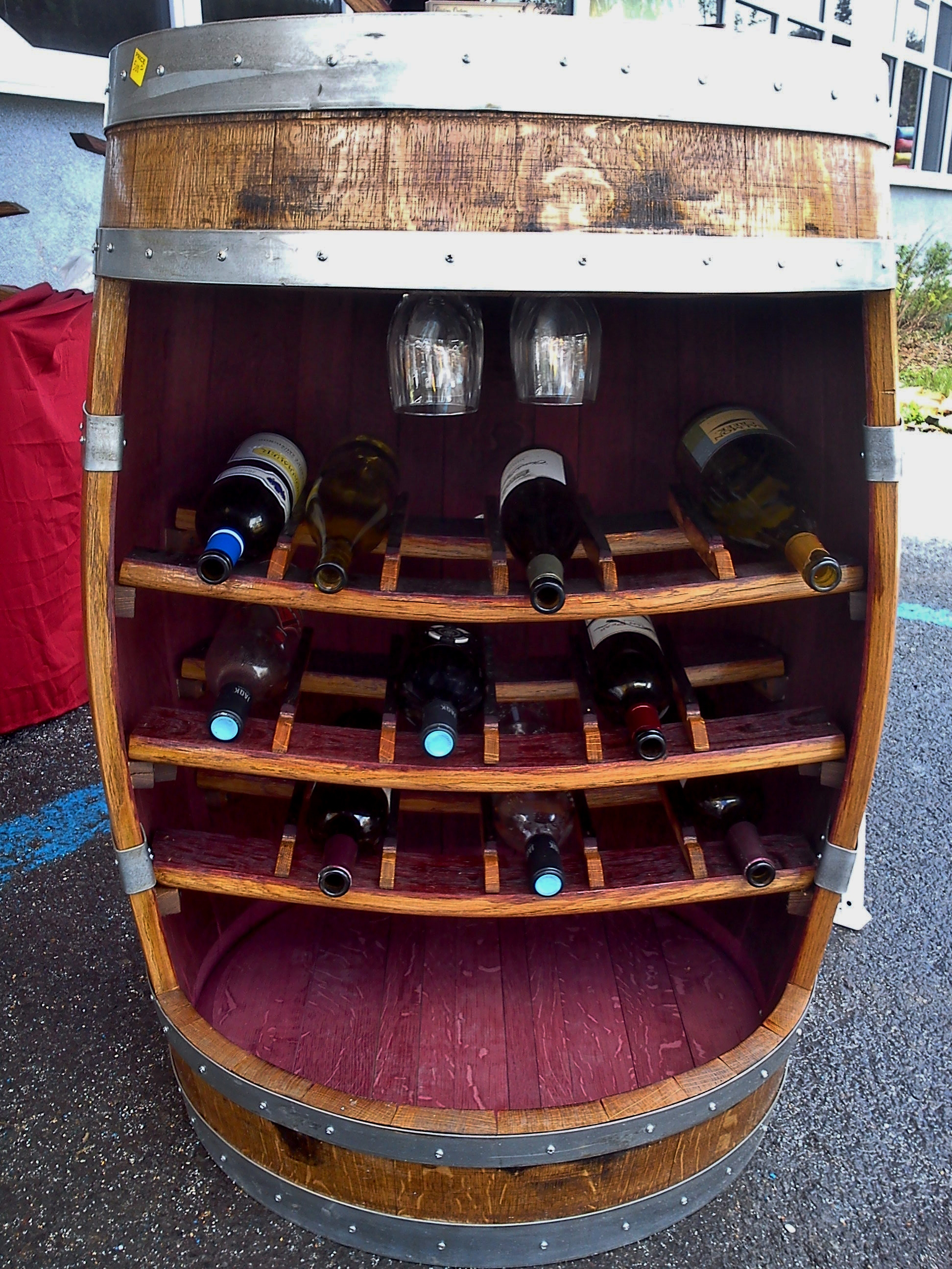 Hand Made Wine Barrel Gifts
